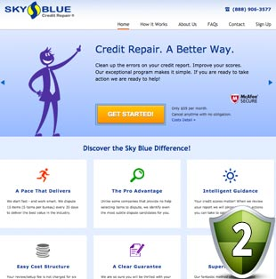 Sky Blue Credit Repair Reviews