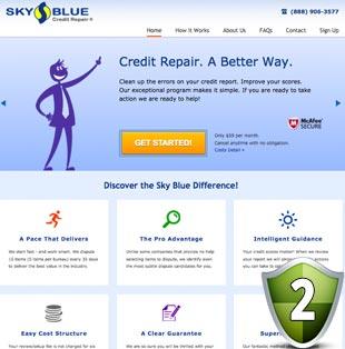 Sky Blue Credit Repair Reviews